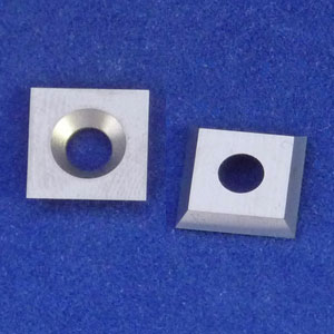 Square 10.5mm Carbide Insert Cutter for Easy Wood Tools Ci2 Rougher