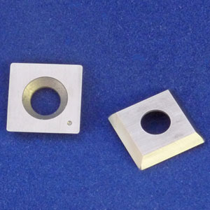 Square Carbide Insert 15mm, Radius Corners, Fits Ci1 Rougher